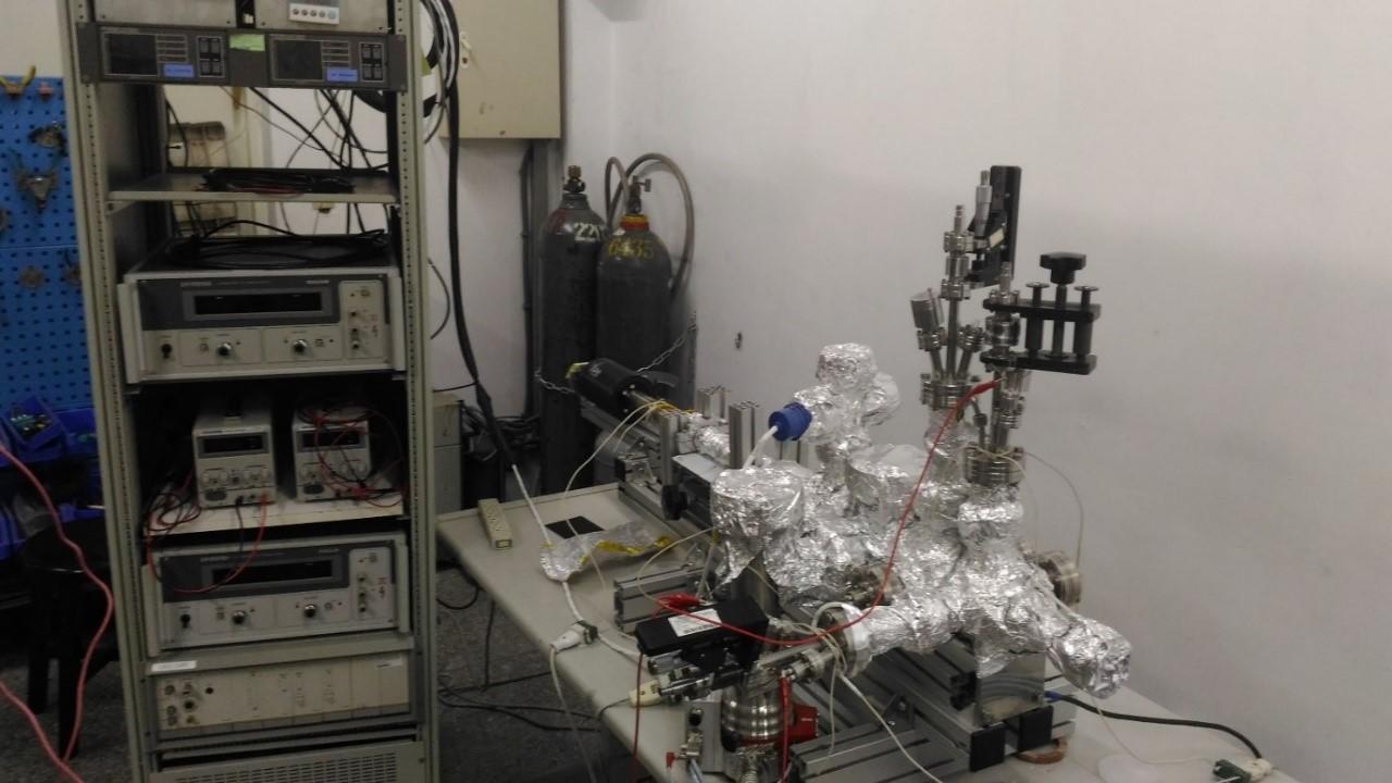 超高真空電子束熱蒸鍍系統